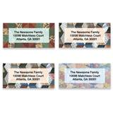 Quilt Patterns Assorted Sheeted Address Labels