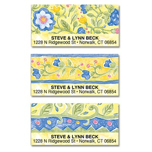 Tuscan Field Flowers Assorted Sheeted Address Labels