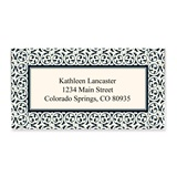 Ornate Scroll Border Sheeted Address Labels
