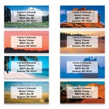 Great American Landscapes Assorted Sheeted Address Labels
