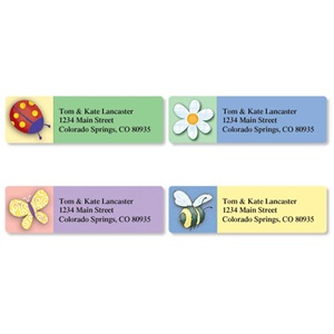Whimsical Cuteness Assorted Sheeted Address Labels