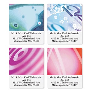 Prismatic Assorted Sheeted Address Labels