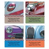 Vintage Car Shine Assorted Sheeted Address Labels