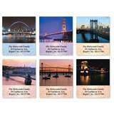 Elegant Bridges Assorted Sheeted Address Labels