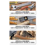 Carpentry Tool Time Assorted Sheeted Address Labels