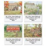 Scenic Country Living Assorted Sheeted Address Labels