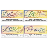 Faithful Phrases Assorted Sheeted Address Labels