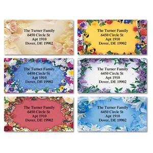 Botanical Bliss Assorted Sheeted Address Labels