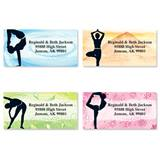 Yoga Spirit Assorted Sheeted Address Labels