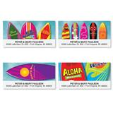 Surf's Up Vibrant Assorted Sheeted Address Labels