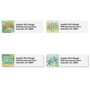 Summertime Happiness Assorted Sheeted Address Labels