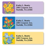 A Bunch of Blooms Assorted Sheeted Address Labels