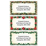 Evergreen Border Assorted Sheeted Address Labels