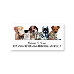 Adorable Pet Pals Sheeted Address Labels