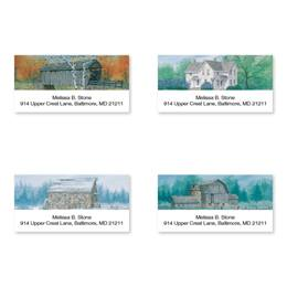 Country Seasons Assorted Sheeted Address Labels