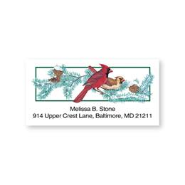 Cardinals on a Branch Sheeted Address Labels