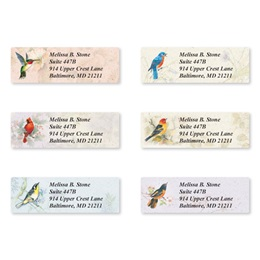 Backyard Birds Assorted Sheeted Address Labels