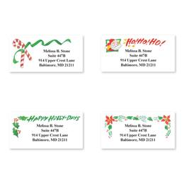 Holiday Traditions Assorted Sheeted Address Labels