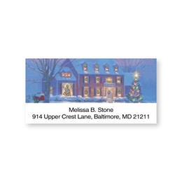 Warmth in Winter Sheeted Address Labels