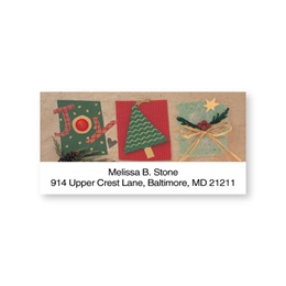 Crafter's Choice Holiday Joy Sheeted Address Labels