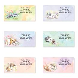 Baby Bunnies Assorted Sheeted Address Labels