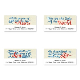 Faithful Inspiration Assorted Sheeted Address Labels