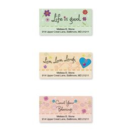Sheeted Address Labels | Artistic Direct