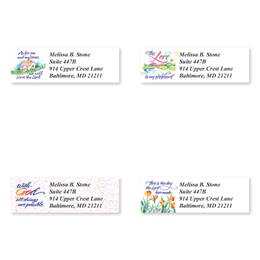 Verses of Good Virtue Assorted Sheeted Address Labels