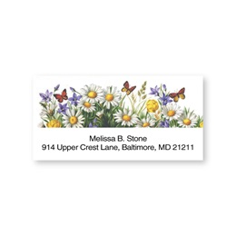 Garden Daisies Sheeted Address Labels