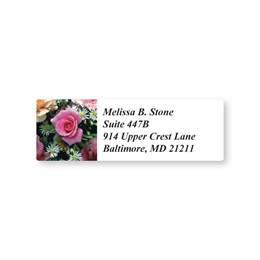 Rose in Full Bloom Sheeted Address Labels