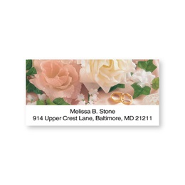 To Have & To Hold Romantic Sheeted Address Labels