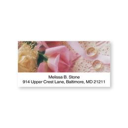 With This Ring Romantic Sheeted Address Labels