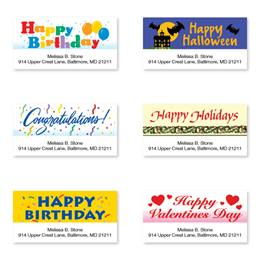 Special Occasions Assorted Sheeted Address Labels