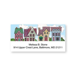 Victorian Mansions Sheeted Address Labels