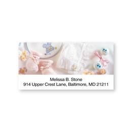 Baby Girl Things Sheeted Address Labels