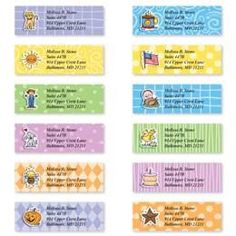 Everyday Doodads Assorted Sheeted Address Labels
