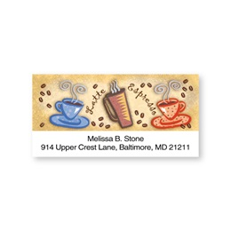 Café Ole Charm Sheeted Address Labels