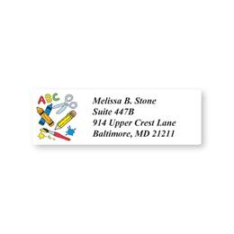 Fun School Rules Sheeted Address Labels