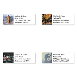 Firefighting Assorted Sheeted Address Labels