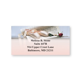 Ballet Shoes Sheeted Address Labels