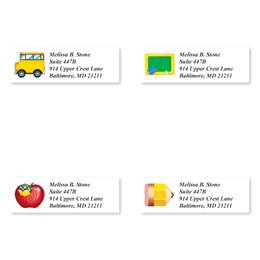 School Fun Assorted Sheeted Address Labels