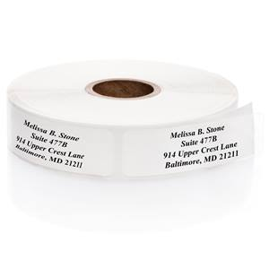 Clear Basic Rolled Labels