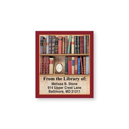Book Lovers Collection Bookplate Labels