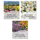 Flower Fields Assorted Bookplate Labels