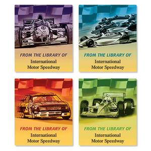 Racing Cars Assorted Bookplate Labels