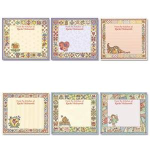Quilted Country Chic Personalized Canning Label Value Pack