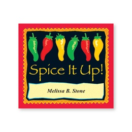 Spice It Up Chili Peppers Personalized Canning Labels
