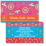 Majestic Marrakesh Double-Sided Calling Cards