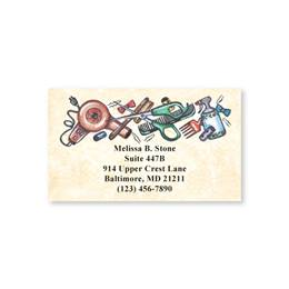Happy Hairdresser Single-Sided Calling Cards