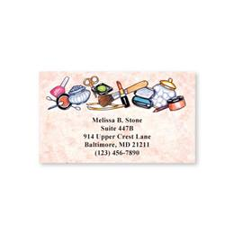 Beauty Consultant Designer Single-Sided Calling Cards